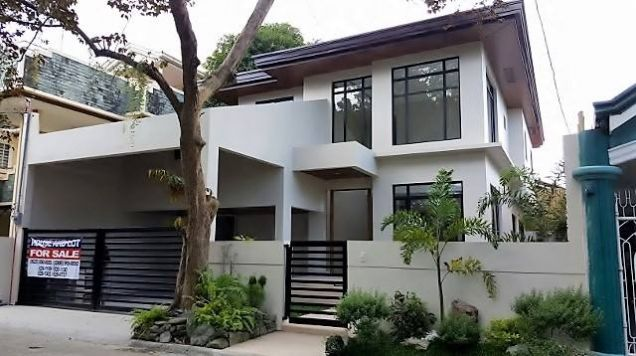 300 sqm 4 bedroom modern house and lot in bf homes phase 5 for 300 sqm house design philippines