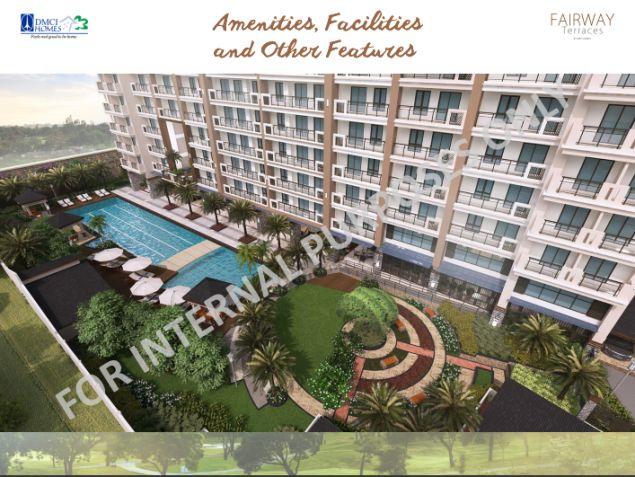 56sqm 2 Bedroom Condo in Pasay City nr Airport. DMCI Fairway Terraces - 1