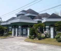 6Bedroom W/Private Swimmingpool Huge House & Lot For RENT In Angeles City - 0