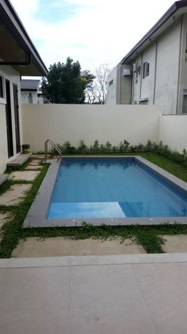 For Rent House and lot with swimming pool in Friendship - 70K - 7