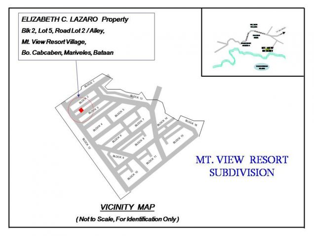 Foreclosed Abandoned Lot for Sale in Bo. Cabcaben Mariveles, Code: 1844416 - 1