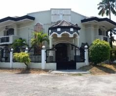 5 Bedroom Semi-Furnished House & Lot For RENT in BALIBAGO, Angeles City - 0