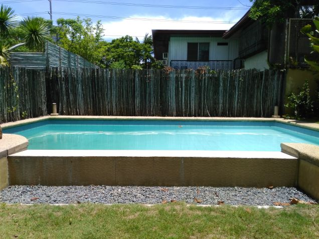 Dasmarinas village house for rent with pool and aircons - 2
