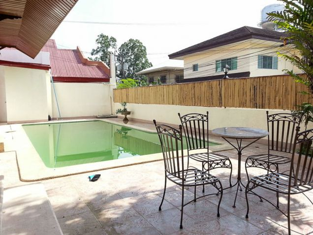 4 Bedroom House for Rent with Swimming Pool in Cebu City Banilad - 5