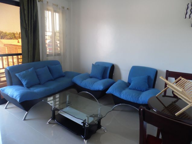 1 bedroom fully furnished apartment is located in Malabanias, Angeles City, Pampanga. - 1