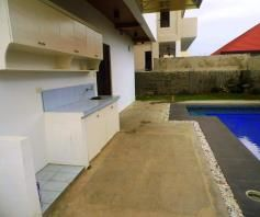 House and Lot with swimming pool for rent in Hensonville Angeles City - P80K - 2