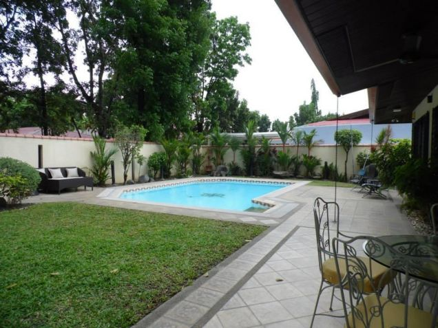 Furnished Bungalow House In Angeles City For Rent With Pool - 2