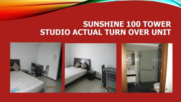 Studio condo unit near SM Megamall, Robinsons Forum and Cybergate, Only 6K per month - 0