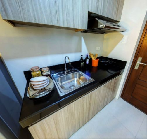 Bare Studio Unit for Sale in a mid-rise residential condominium at Acacia Escalades, Pasig City in the middle of Eastwood, Ortigas and Marikina - 1
