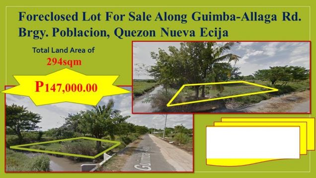 Lot for Sale in Quezon, Nueva Ecija, My Saving Grace Realty & Development Corp - 0