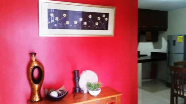 3 bedroom fully furnished located in a secured subdivision at 35K - 1