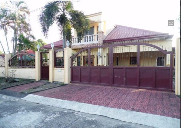 House and lot with yard for rent inside a gated Subdivision in Friendship - 0
