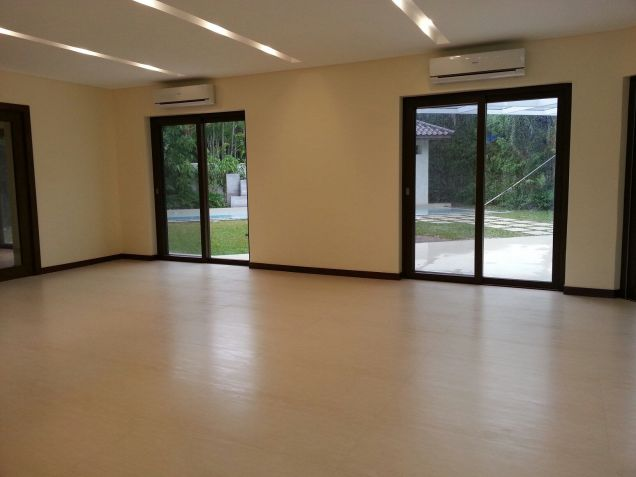 Modern Mediterranean Ayala Alabang House For Rent - 0