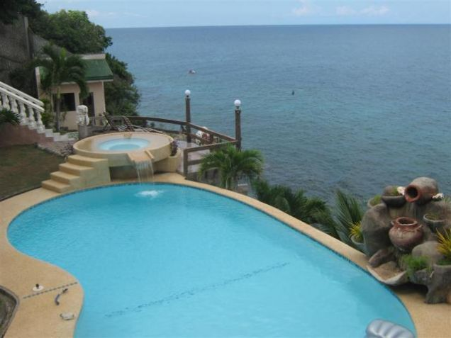 For Rent Two Beachouses with Pool,Garden and Cliff Beachfront, Tabogon Cebu - 7
