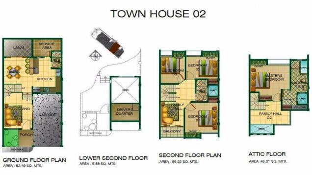 4 Bedroom 3 storey town house and lot for Rent in angeles city - 4