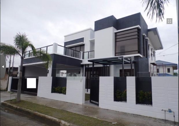 Modern 2 Storey House with swimming pool for rent - 75K - 0