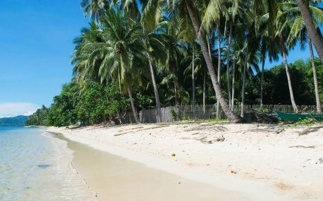 El Nido Palawan White Sand Beach Front Lot - 2