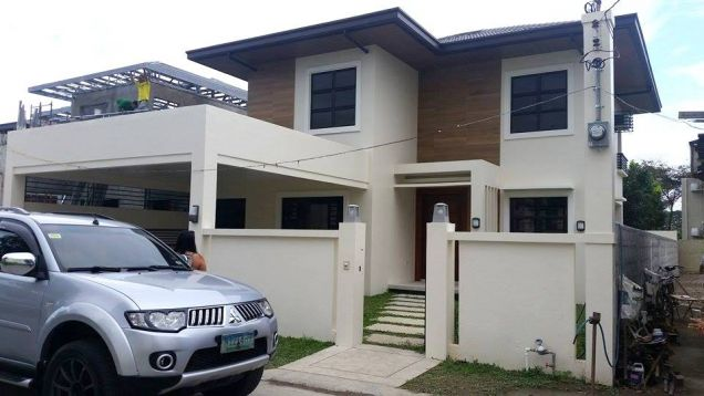 For Rent House and lot with swimming pool in Friendship - 70K - 2