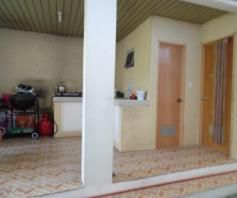 House and lot with Spacious yard for rent in Friendship - 55K - 2
