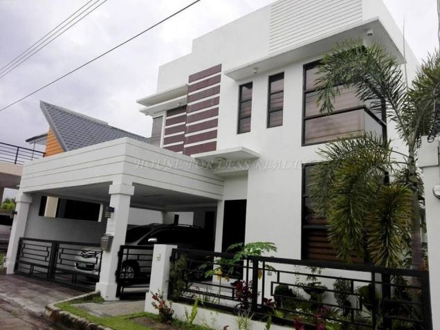 Modern 4 Bedroom House For Rent In Angeles City - 0