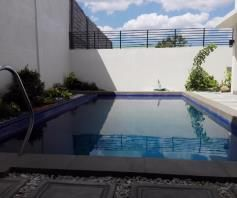 W/Private Pool House & Lot For RENT In Friendship Angeles City Near Clark - 7