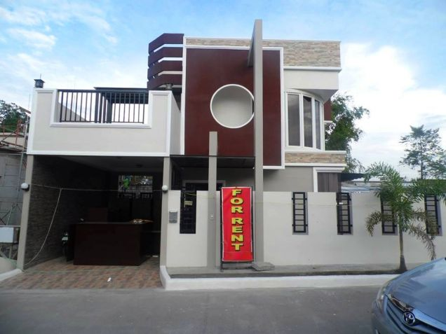Brandnew - Modern House with 3 Bedrooms for Rent in Hensonville Angeles City - 0