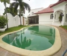 5 Bedroom House with Swimming pool for rent in Balibago - 90K - 0