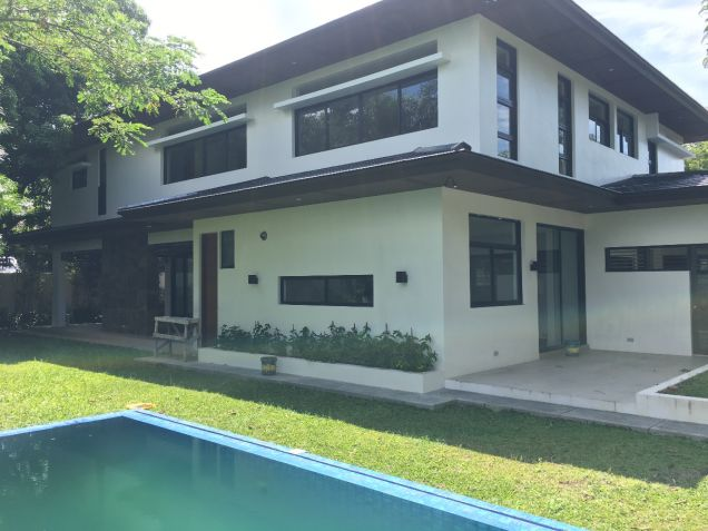 Forbes Park Makati Modern Asian new house for rent - 0
