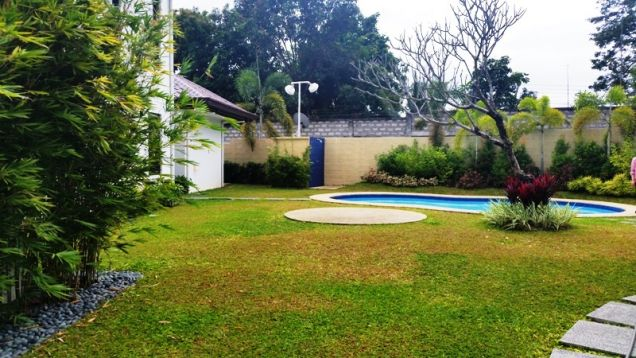 4 Bedroom furnished house with swimming pool FOR RENT ! - P120K - 9