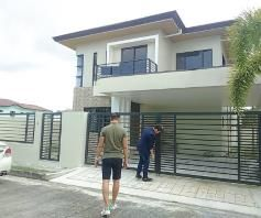 House and lot for rent inside a gated Subdivision in Hensonville - 50K - 5