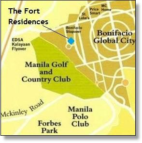 3 bedroom The Fort Residences BGC - 5
