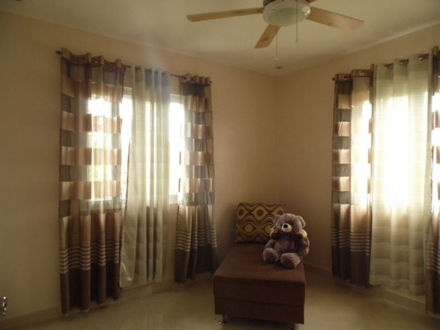 Furnished House and lot for rent inside a secured Subdivision for rent - 70K - 4