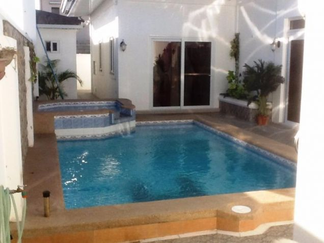 4 Bedroom Furnished house and lot for rent with pool near Nlex - 9