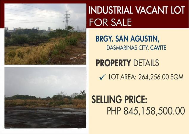 Industrial Vacant Lot for Sale in Dasmarinas Cavite - 0