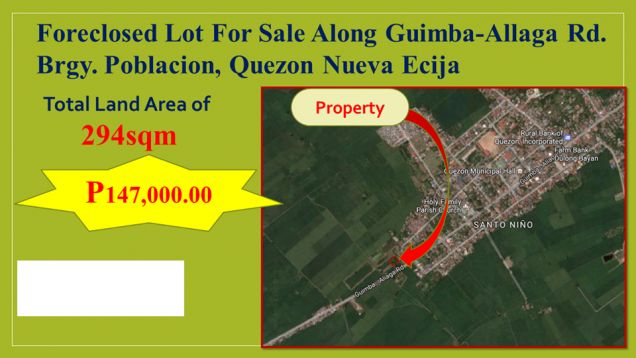 Lot for Sale in Quezon, Nueva Ecija, My Saving Grace Realty & Development Corp - 3