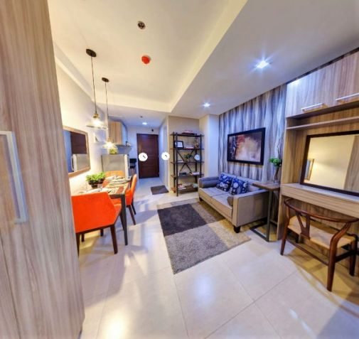 Bare Studio Unit for Sale in a mid-rise residential condominium at Acacia Escalades, Pasig City in the middle of Eastwood, Ortigas and Marikina - 0