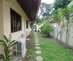 House and lot for rent with Spacious yard and swimming pool - 75K - 3