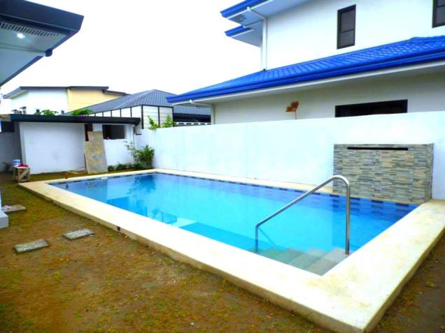 Three Bedroom House With Pool For Rent In Pampanga - 3