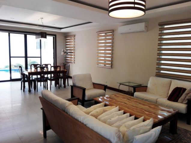 W/ Private Pool House & Lot For Rent In Friendship Angeles City Near CLARK - 4