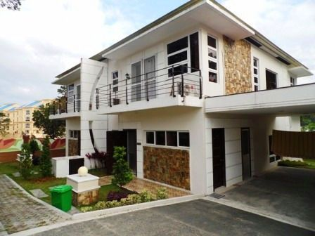 This 2 Storey House with Spacious Living room for rent at P55K - 0