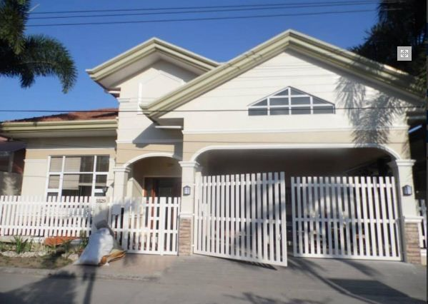 Bungalow Furnished House In Angeles City For Rent - 1