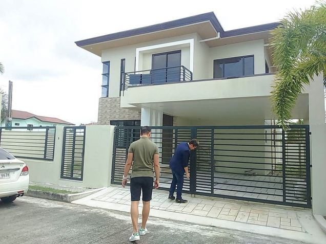 House and lot for rent inside a gated Subdivision in Hensonville - 50K - 0
