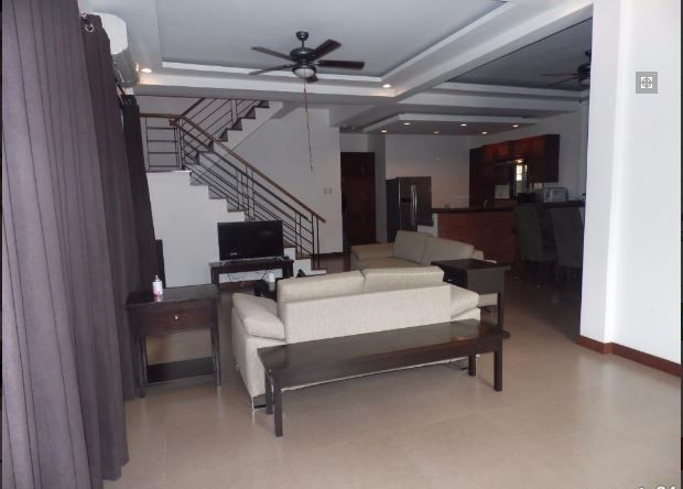 For Rent Fully Furnished House and lot with 4 Bedrooms - 1