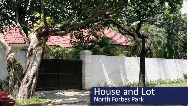 House and Lot for Rent, 1750sqm Lot in North Forbes Park, Makati, RHI-3240, Reality Homes Inc. - 1