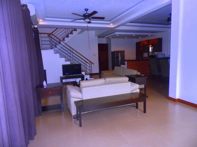 2 Storey Furnished House for rent in Hensonville - 70K - 5