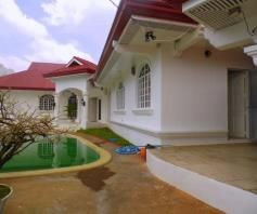 House and Lot for rent with 5BR and Swimming pool - 90K - 0