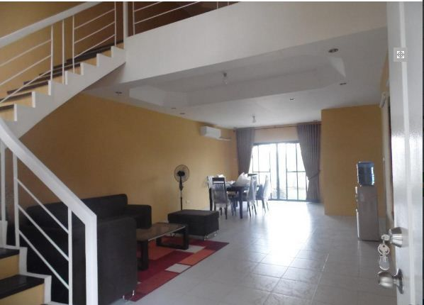Town House with 4 Bedrooms inside a Secured Subdivision for rent @ 35k - 1
