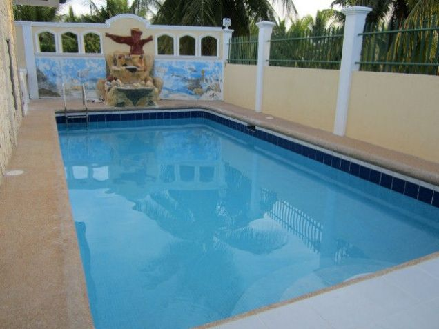 For Rent Three Bedrooms House with Pool & Big Garden in Dalaguete Cebu - 1