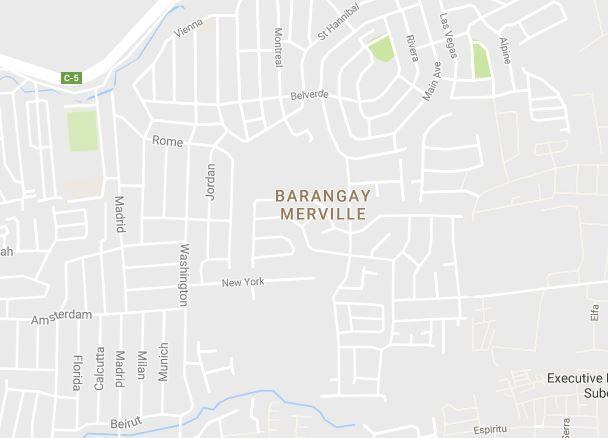 House and Lot fo Rent in Merville, Parañaque, Code: COJ-HL - GCAJV - 0
