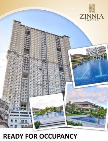 Affordable 2 bedroom Condominium near SM North and Trinoma Zinnia Towers - 0